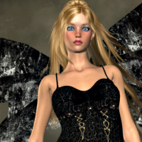 Free Night Fairy PSP tube