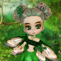 Free St. Patrick's Day Fairy PSP Tube
