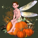 Autumn Fairy template