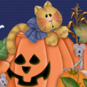 Cute Country Halloween Ebay Auction template