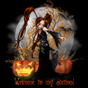 Ebay Auction Listing Halloween Goth template dark fantasy
