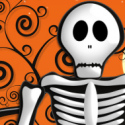Halloween Skeleton Ebay Auction template
