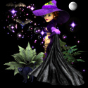 Koshini Magic User and black cat witch  Ebay Auction template