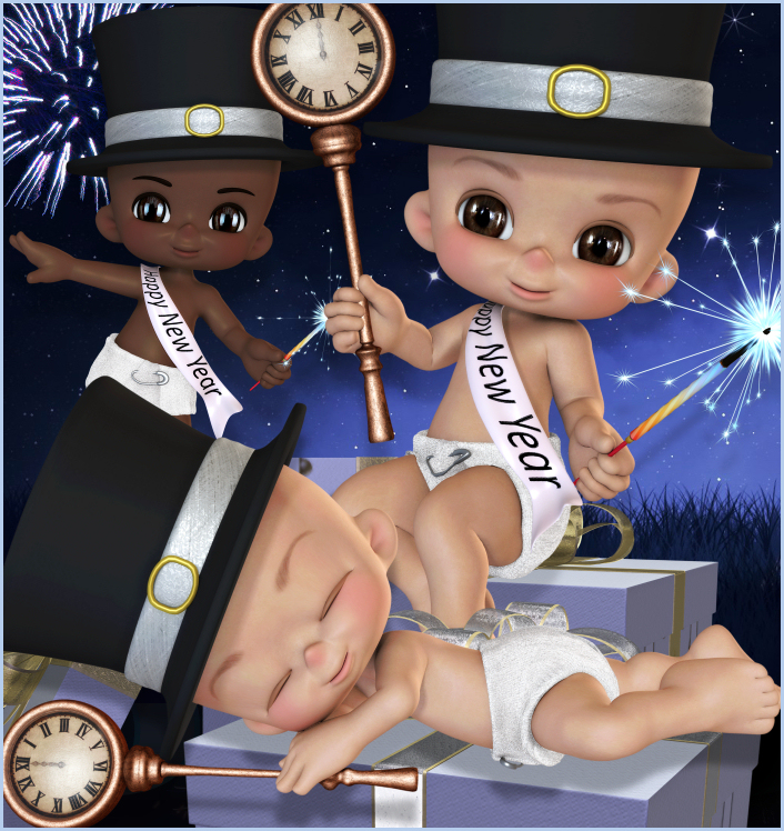 Baby New Year Graphics