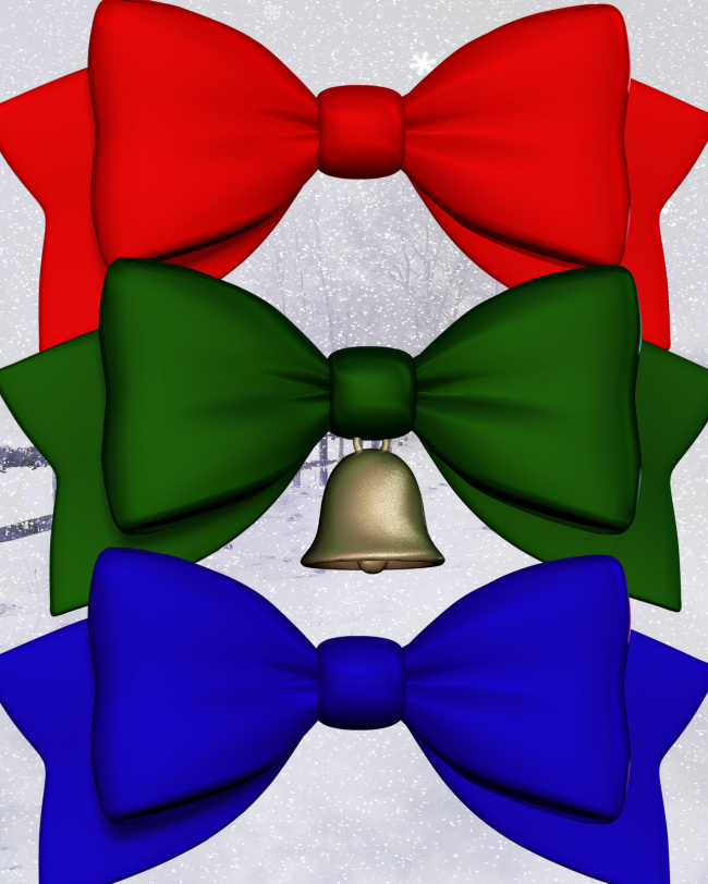 Bells and Bows PNGs