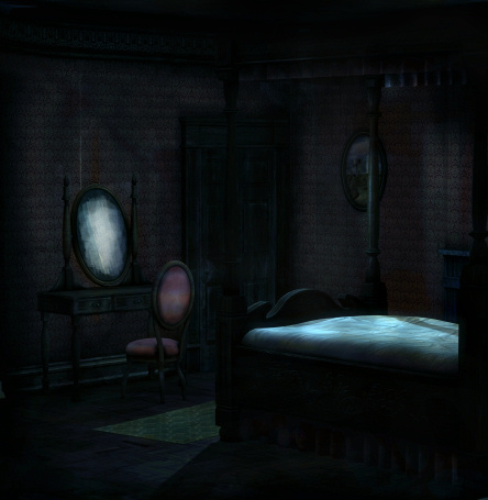 Haunted Room, horror backgrounds and tubes