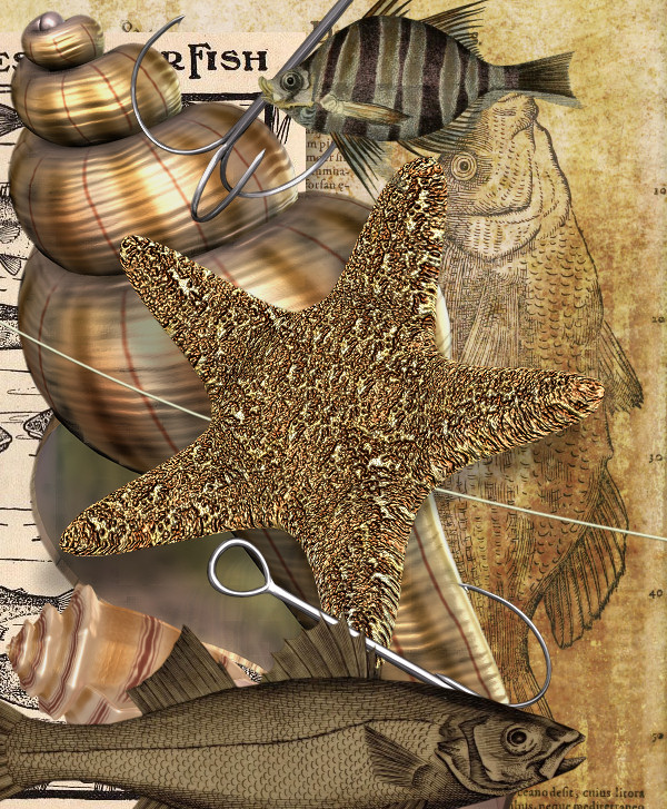 Just Fishing Scrapbook Kit.