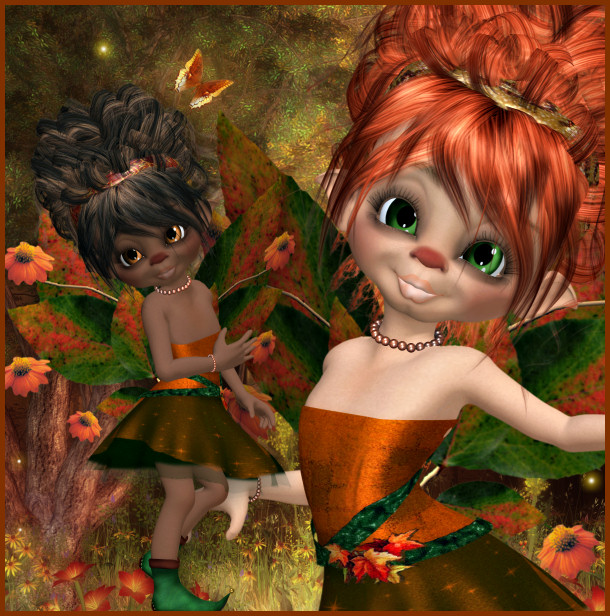 Autumn Blessing fairy Tubes