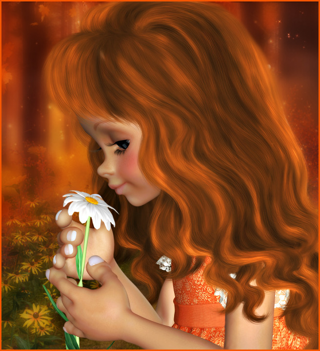 Autumn Girl Graphics