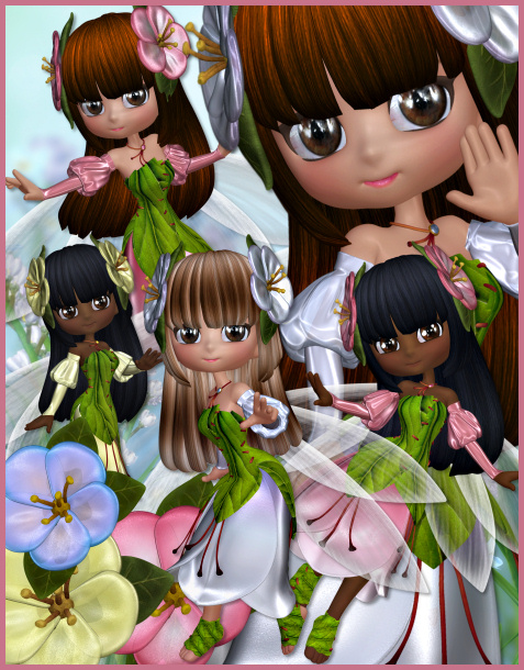 Blossom Fairy graphics