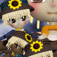 Cute Cookie Scarecrows for your fall designs!