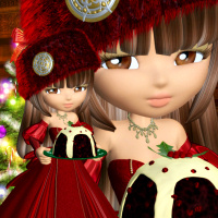 cookie snow bride psp tubes