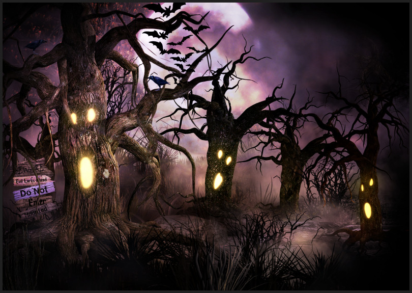 Creepiest Trees Graphics