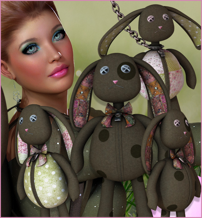 Easter Goth Bunny Graphics