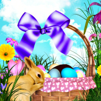 Easter Basket Backgrounds
