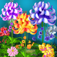 Fairy flower stock image package