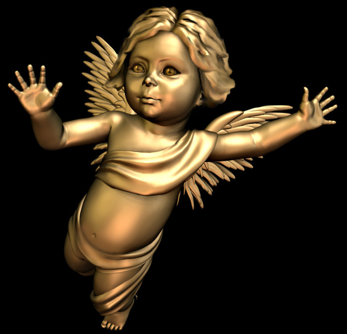 Gilted Cherub Graphics for Valentine's Day, Christmas, and other celebrations.