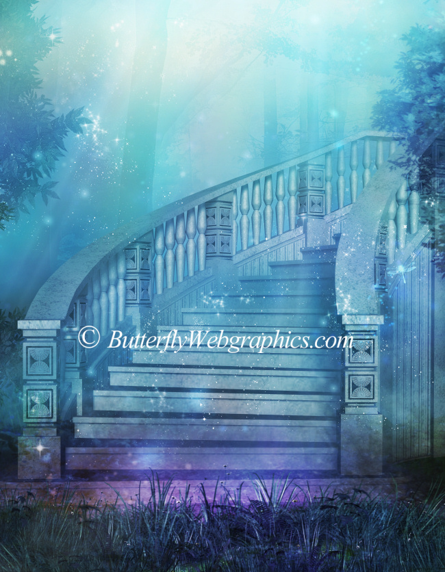 Grand Stairs Graphics