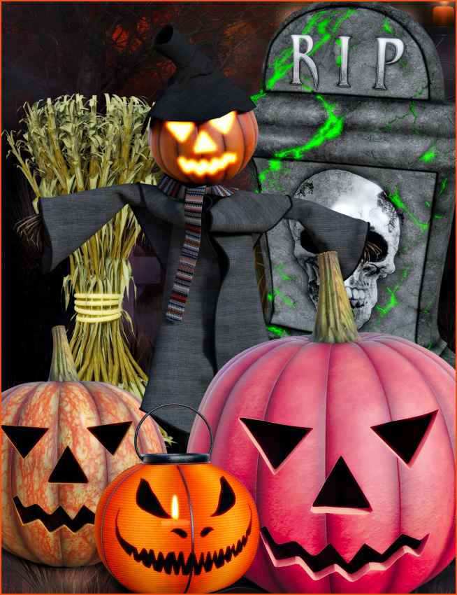 Halloween Night Graphics