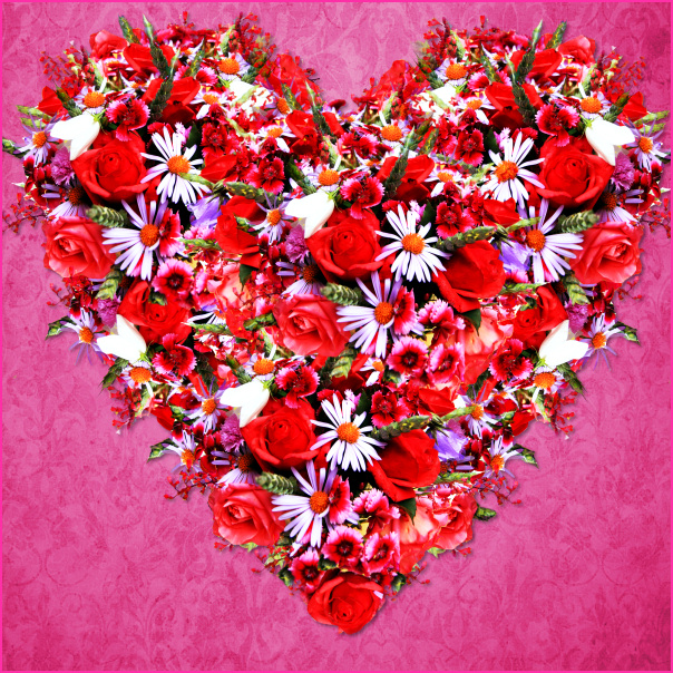 Hearts and Roses Graphics