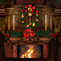 Christmas and winter psp tubes and graphics for Stocking clips for fireplace