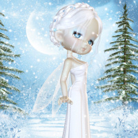 butterflywebgraphics.com Fairy of the month Winter January Fairy tubes for your designs