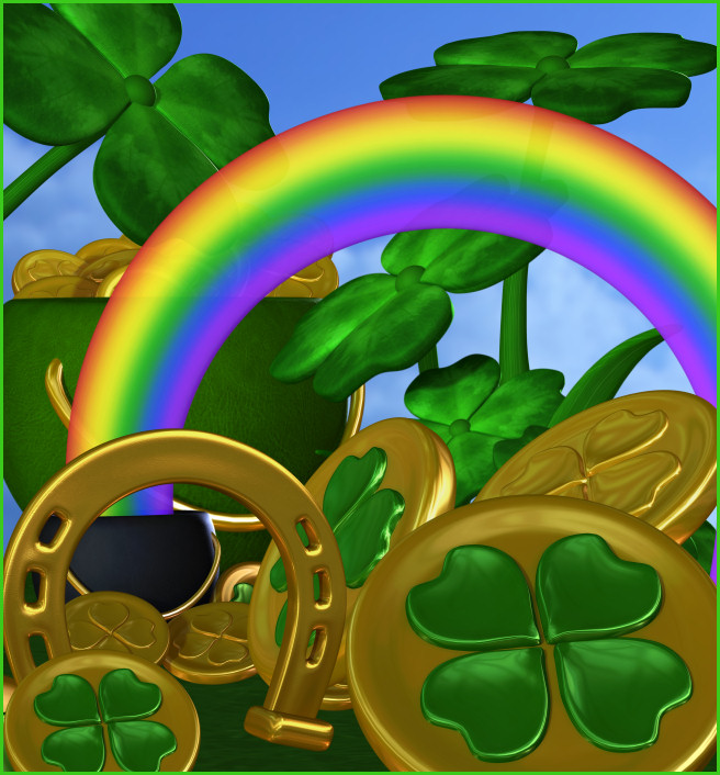 Leprechaun's Treasure Graphics