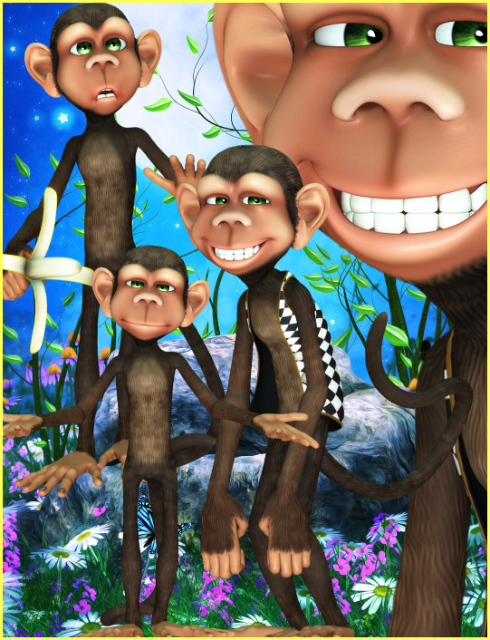Monkey Graphics PSP tubes