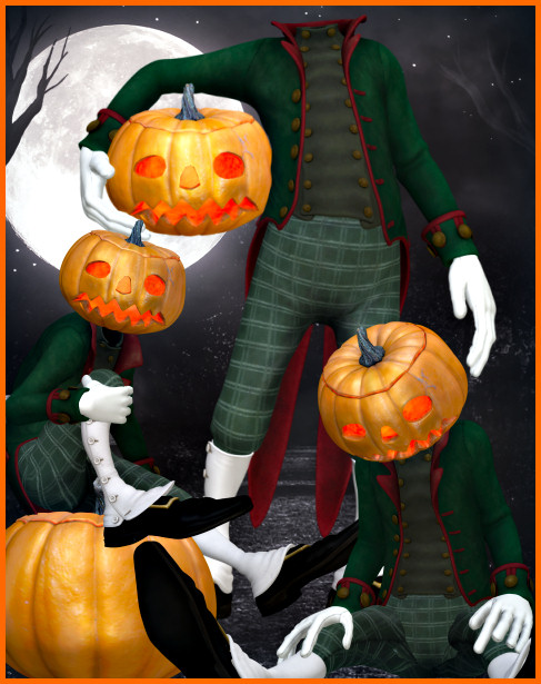 Mr. Pumpkin Graphics