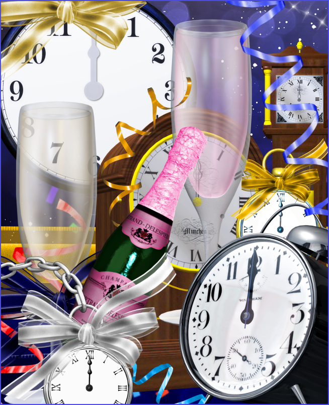 New Year Celebration Graphics