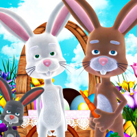 Peter Cottontail Bunny tubes
