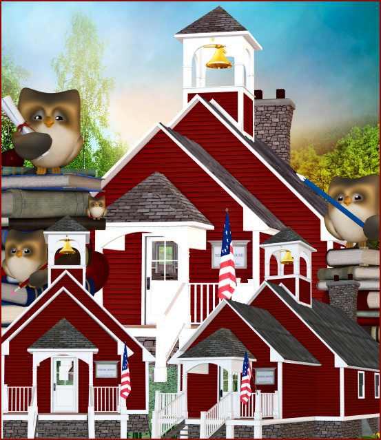 Little Red Schoolhouse Tubes
