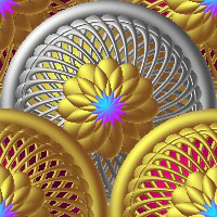 butterflywebgraphics.com silver and gold web elements for your designs