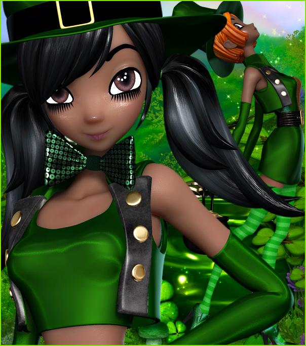 Star Leprechaun Graphics