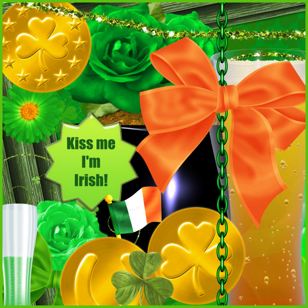 St. Pat's Scrapbook Kit.