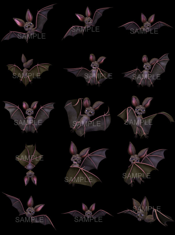 Spooky Bat Graphics