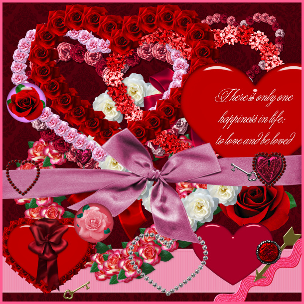 valentines hearts images. 160+ Valentine#39;s Day scrapbook