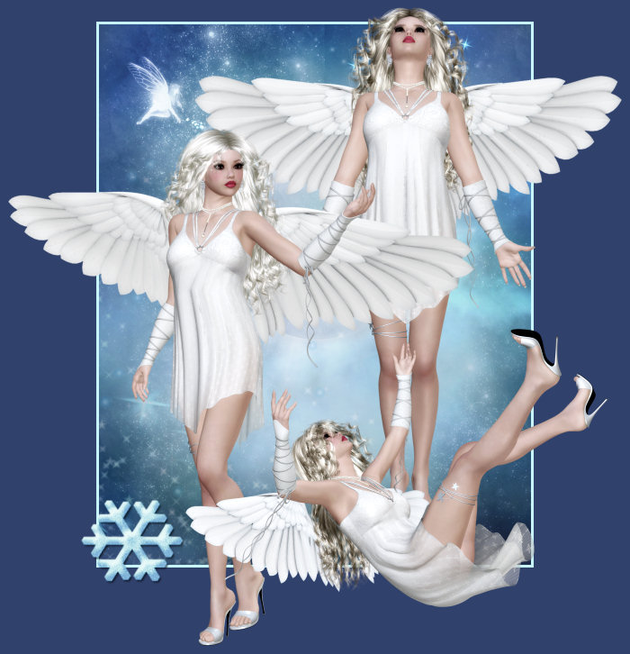 Winter Angel Tubes