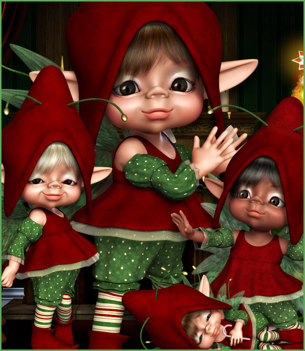 Bah-Humbug Christmas Fairy Graphics