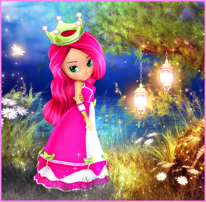 Princess Berry Graphics