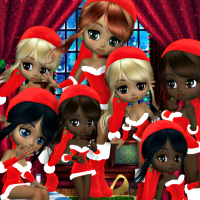 Santa's Little Helpers Graphics