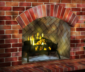 Brick Fireplace Graphics