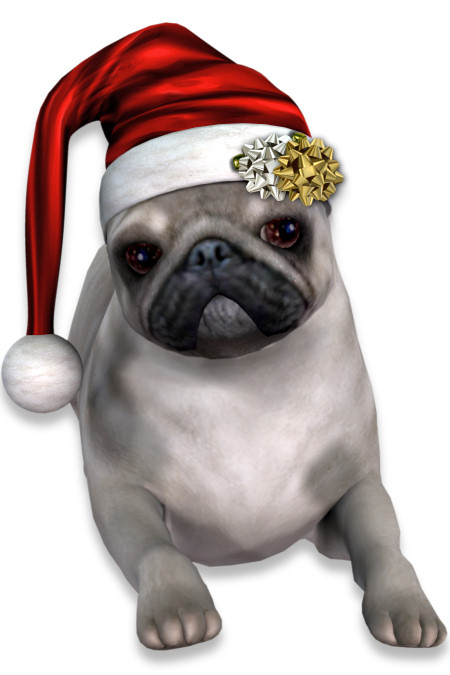 Christmas Pug Graphics