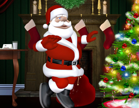 Toon Santa Graphics