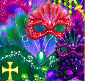 Mardi Gras Royalty Graphics