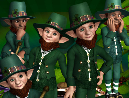Leprechaun Gold Graphics 2