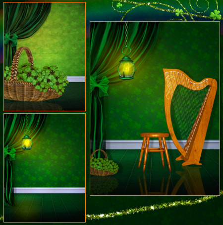 Leprechaun's Lair Backgrounds