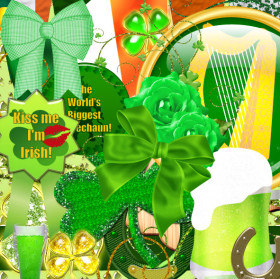 St. Pat's Scrapbook Kit