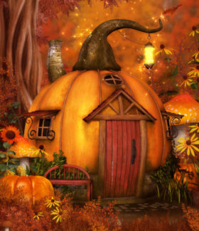 Pumpkin Houses Graphics