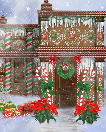 Gingerbread Mansion Graphics